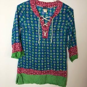 Sperry Top Sider Coverup Tunic Size Small